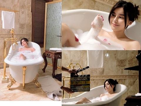 Rò rỉ cảnh nóng của Cao Thái Hà trong phim mới