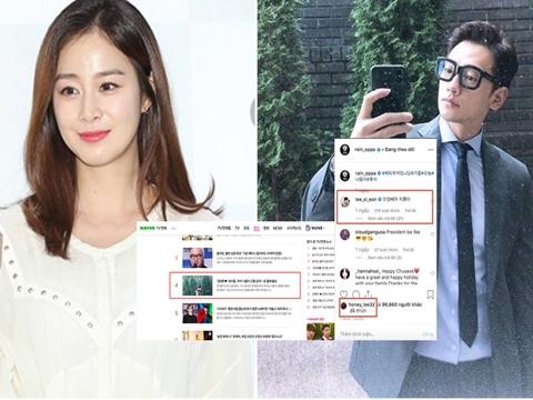 Kim Tae Hee chưa đẻ, Bi Rain đã leo thẳng lên top tìm kiếm vì lý do không ngờ