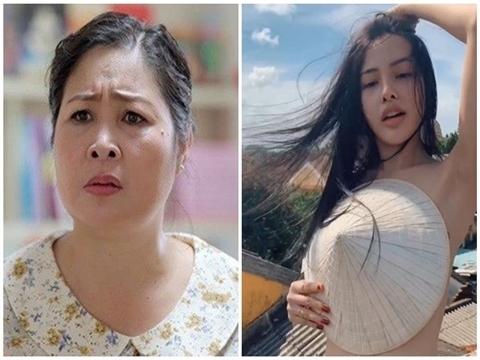 NSND Hồng Vân bức xúc vì cô gái che ngực ở Hội An tự nhận là diễn viên
