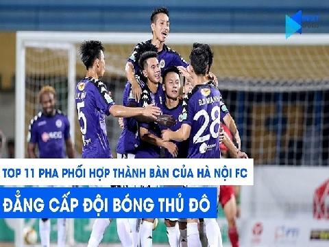 Mãn nhãn với những pha phối hợp 'đỉnh cao' của Hà Nội FC tại V.League 2019