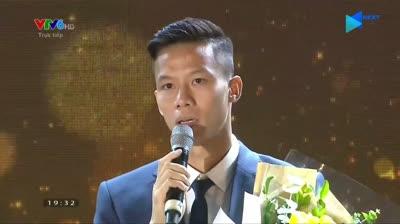 Quế Ngọc Hải trải lòng về HLV Park sau khi nhận giải Đội tuyển của năm