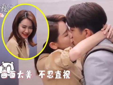 Cặp diễn viên Trung Quốc lem son vì... hôn quá hăng