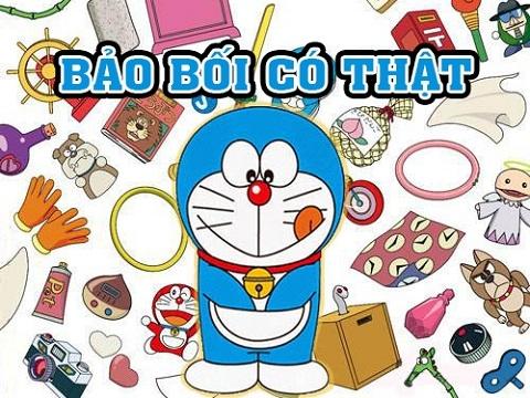 10 món bảo bối của Doraemon đã trở thành hiện thực