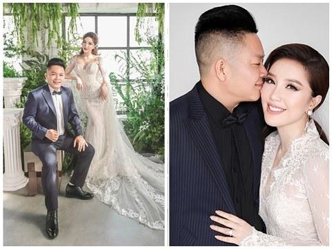 Hé lộ ảnh cưới 'ảo diệu' của Bảo Thy, lần đầu khoe chân dung hôn phu