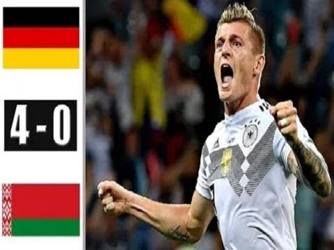 Đức 4-0 Belarus: Toni Kroos tỏa sáng, Đức chính thức giành vé dự EURO 2020