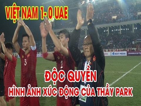 """""""50 sắc thái"""" của thầy Park trong trận đấu với UAE"""