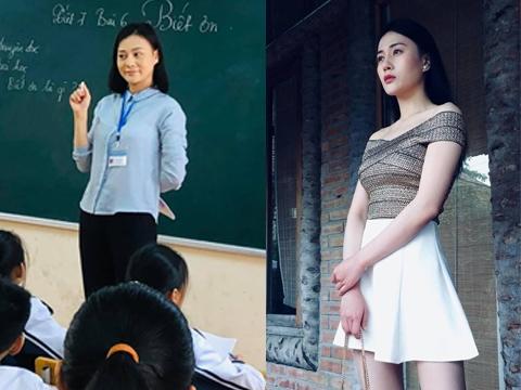 'Quỳnh Búp bê' Phương Oanh bỏ ngành đi làm giáo viên trường làng