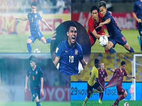 5 quân bài của tuyển Thái Lan có thể làm thay đổi cục diện trận đấu