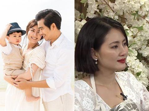 Hậu ly hôn, Ngọc Lan tươi tắn trong show bỉm sữa cạnh hoa hậu Diễm Hương