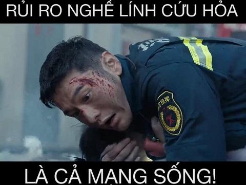 Rủi ro nghề nghiệp của lính cứu hỏa chính là cả mạng sống!