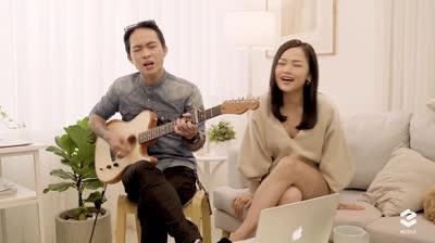 Miu Lê đãi fans bản Acoustic ''Giá như cô ấy chưa xuất hiện'' ngọt lừ
