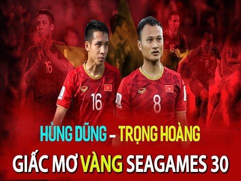 Lý do HLV Park gọi Hùng Dũng, Trọng Hoàng dự SEA Games 30
