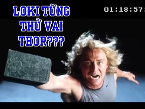 Lần đầu tiên clip 'Loki' Tom Hiddleston đi casting vai Thor được tiết lộ