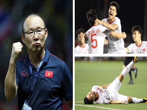 Điểm nhấn U22 Việt Nam 1-0 U22 Singapore: Quang Hải chấn thương, Đức Chinh tỏa sáng