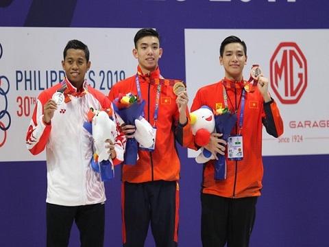 Ấn tượng SEA Games 30 ngày 5/12: Huy Hoàng đoạt vé Olympic từ đường đua SEA Games