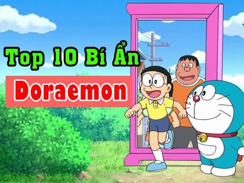 Giải Mã Top 10 Bí Ẩn Về Doraemon