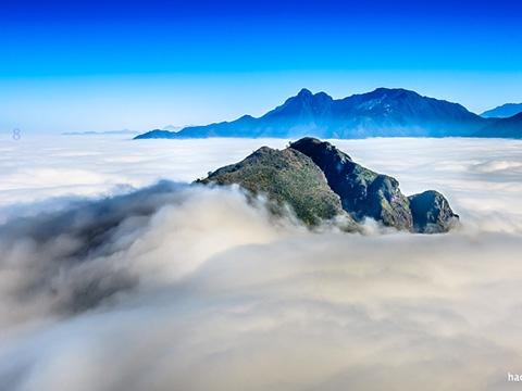 Rụng tim ngắm biển mây ở rừng nguyên sinh Trung Quốc