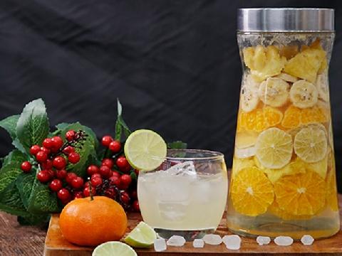 Ủ rượu trái cây cho năm mới nồng nàn