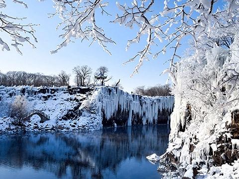 'Hoa băng' phủ trắng hai bờ Hắc Long Giang siêu đẹp