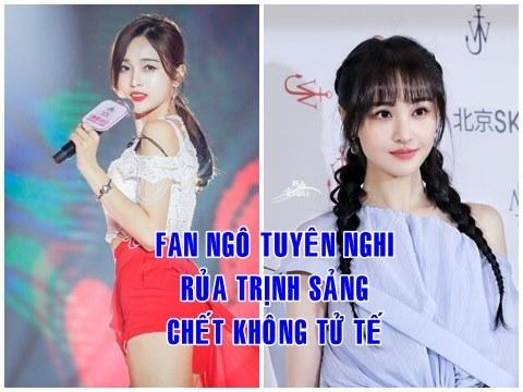 Fan 1 idol xứ Trung rủa cả nhà Trịnh Sảng chết không được tốt đẹp