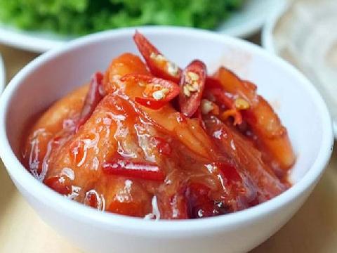 Hướng dẫn cách làm món tôm ngâm chua ngọt