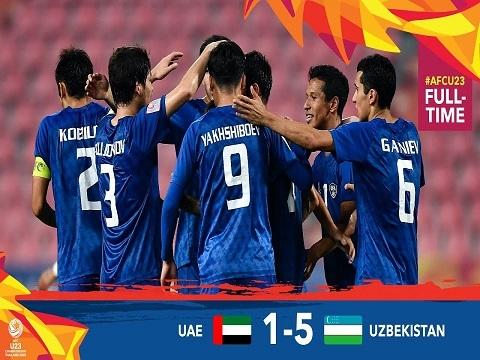 U23 Uzbekistan 5-1 U23 UAE: Đẳng cấp của ĐKVĐ