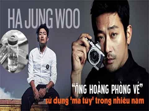 'Ông hoàng phòng vé' Ha Jung Woo sử dụng 'ma túy' trong nhiều năm