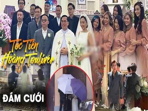 Trực tiếp: Đám cưới Tóc Tiên - Hoàng Touliver và dàn khách mời khủng