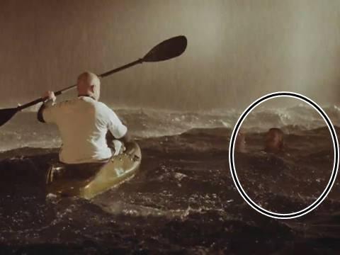 Cận cảnh quá trình quay nhân vật dưới trời giông bão của các nhà làm phim