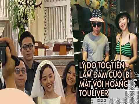 Đây là lý do Tóc Tiên tổ chức đám cưới bí mật