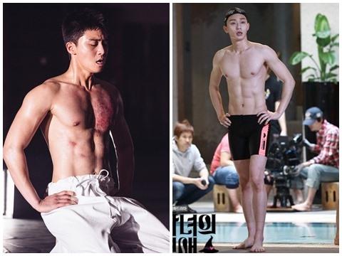Xịt máu mũi với body siêu thực của ông chủ 'Itaewon class' Park Seo Joon