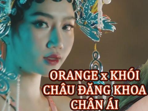 ORANGE hát live''Chân Ái'' ngọt lừ cùng rapper KHÓI khiến fans điêu đứng