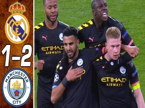 Real Madrid 1-2 Man City: Màn ngược dòng đỉnh cao