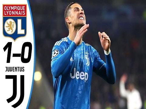 Lyon 1–0 Juventus: Ronaldo im tiếng, Juventus khóc hận