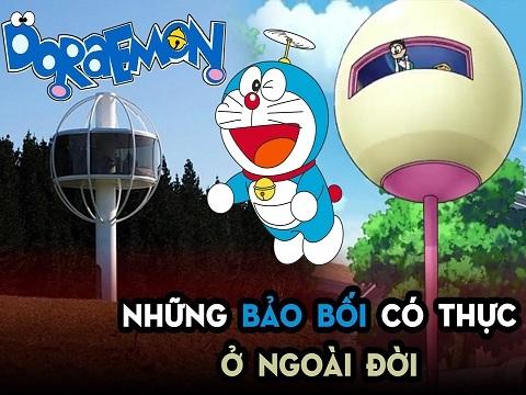 Những bảo bối của Doraemon có thực ở ngoài đời