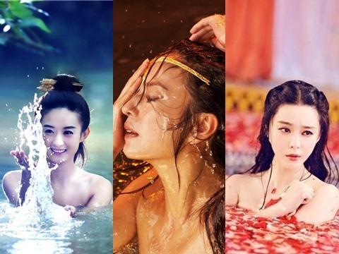 6 pha lộ cảnh tắm táo bạo của loạt mỹ nhân Hoa Ngữ