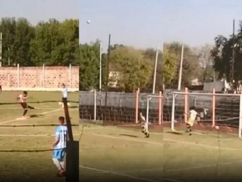 Cầu thủ tung cú sút từ giữa sân, ghi bàn thắng nhanh nhất lịch sử