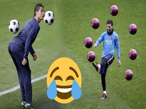Các tuyệt kỹ trên sân tập của sao bóng đá (P1)