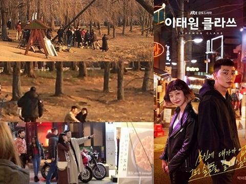HOT: Lộ ảnh hậu trường tập cuối 'Tầng Lớp Itaewon'