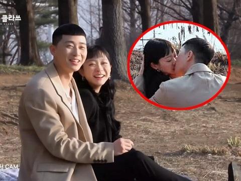 Ngất lịm clip hậu trường Park Seo Joon ngấu nghiến đè hôn 'điên nữ' ở Tầng Lớp Itaewon