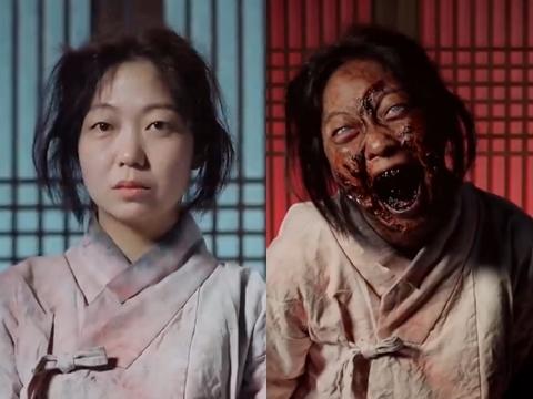 Fan khóc thét với màn hóa trang Zombie ở bom tấn 'Kingdom'