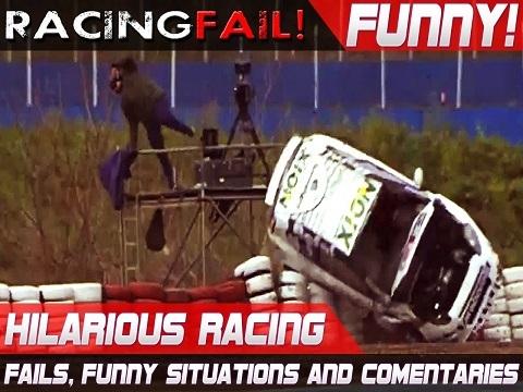 Các tai nạn hài hước của môn đua xe (P2)