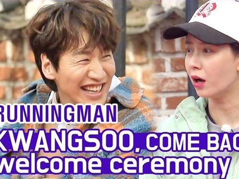 Dàn sao Running Man rủ cả Kang Daniel tới mừng Kwang Soo tái xuất sau tai nạn