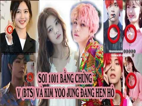 Soi 1001 bằng chứng V (BTS) và Kim Yoo Jung đang hẹn hò