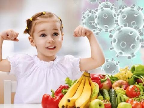 Thực phẩm giúp tăng cường hệ miễn dịch cho trẻ