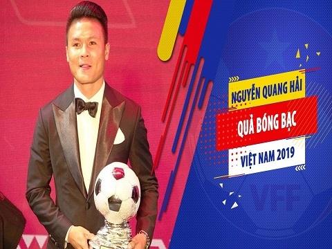 Nguyễn Quang Hải - Quả bóng Bạc Việt Nam 2019