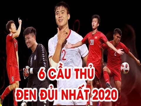 Top 6 cầu thủ Việt Nam 'đen đủi' nhất năm 2020