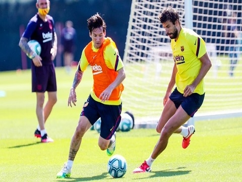 Messi tìm lại cảm giác ghi bàn