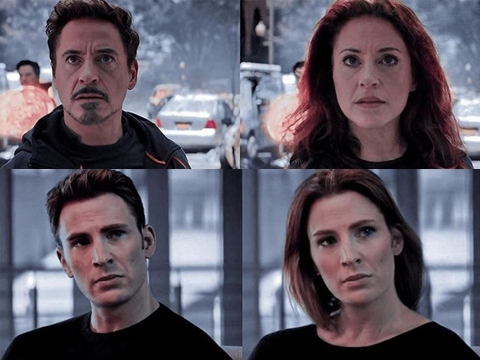 Cười sặc cơm xem các siêu anh hùng Marvel 'chuyển giới'