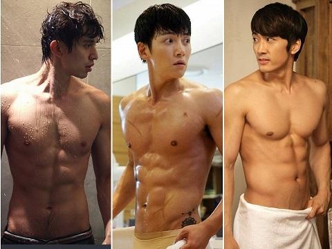 10 cảnh tắm 'khoe thân' của mỹ nam Hàn khiến chị em đổ gục